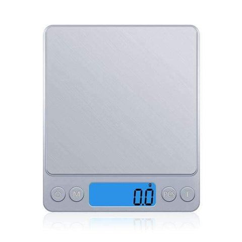 High Precision Portable Kitchen Scale for Fitness and Bodybuilding (3000gx0.1g) ,Kitchen Scale - Gym Beast Mode
