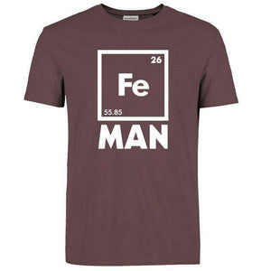 Science Iron Man T-shirt ,tshirt - Gym Beast Mode