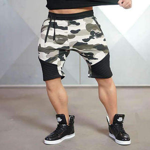 Bodybuilding Fashion Camouflage Shorts ,shorts - Gym Beast Mode