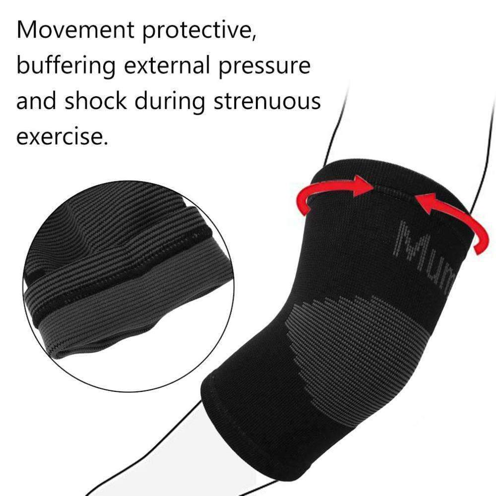 FREE Black Protective Elbow Sleeve ,elbow sleeve - Gym Beast Mode
