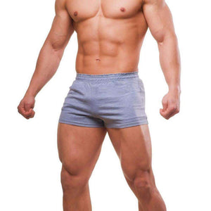 Men's Bodybuilding Shorts - Premium Quality Cotton ,shorts - Gym Beast Mode
