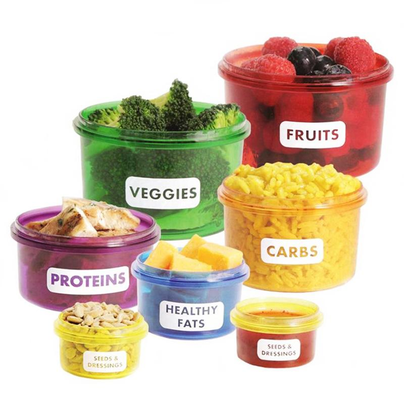 Perfect Portion Diet Containers - Critical Muscle