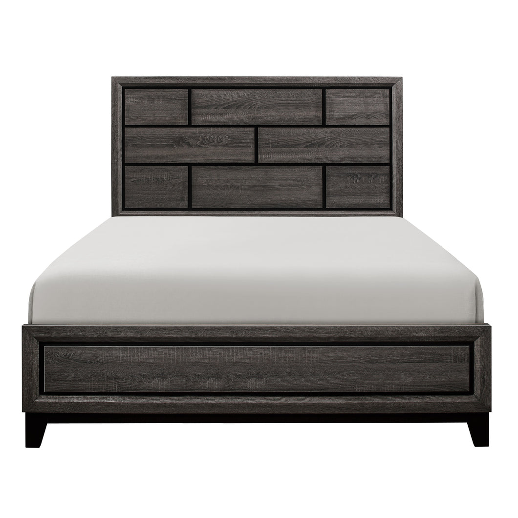 1645K-1EK* Eastern King Bed