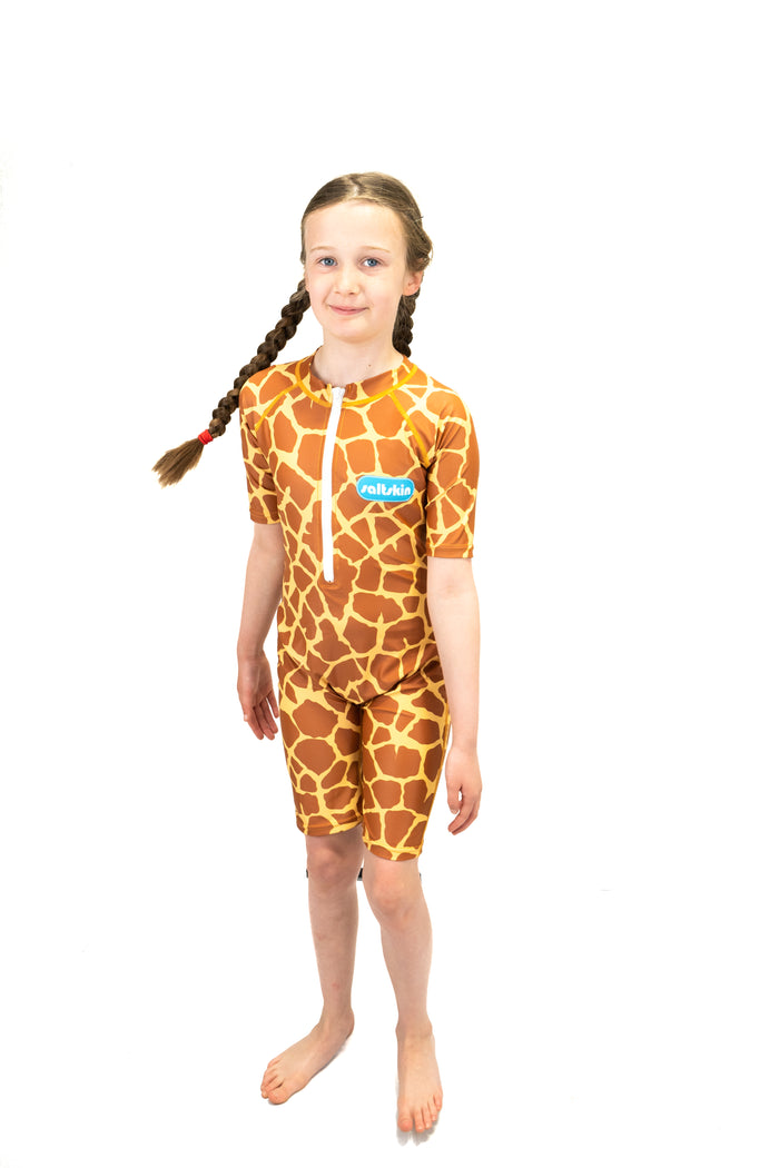 Saltskin Giraffe Sun suit shorty