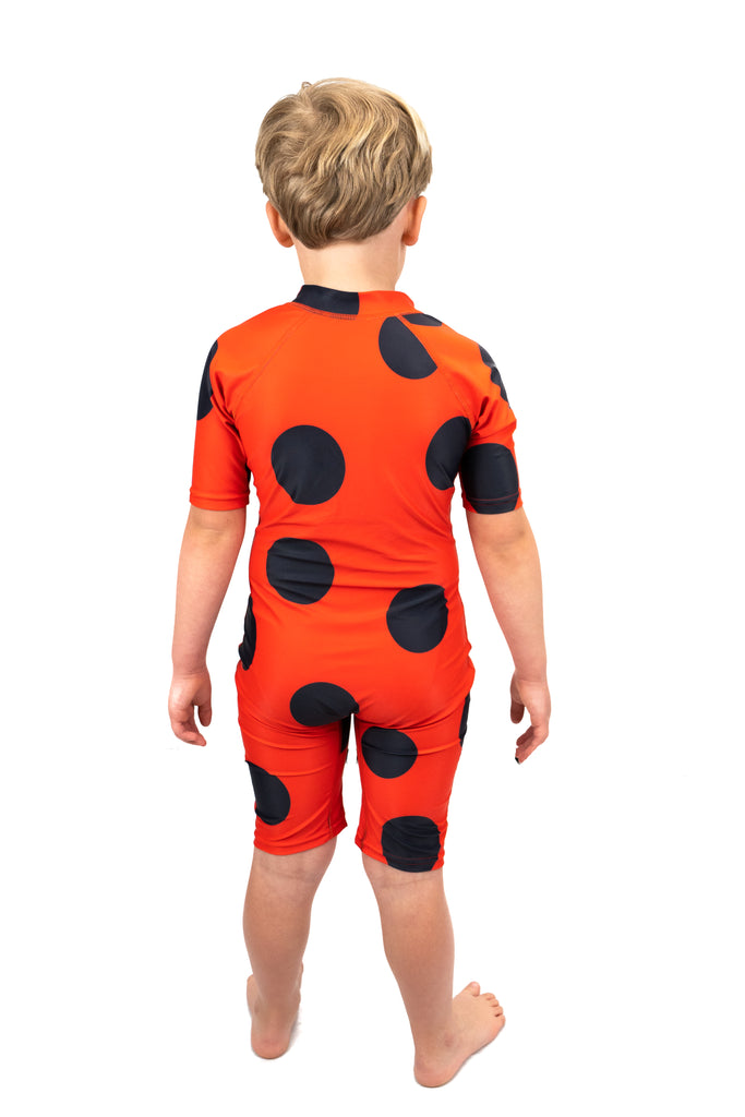 Saltskin Ladybird Sun suit shorty