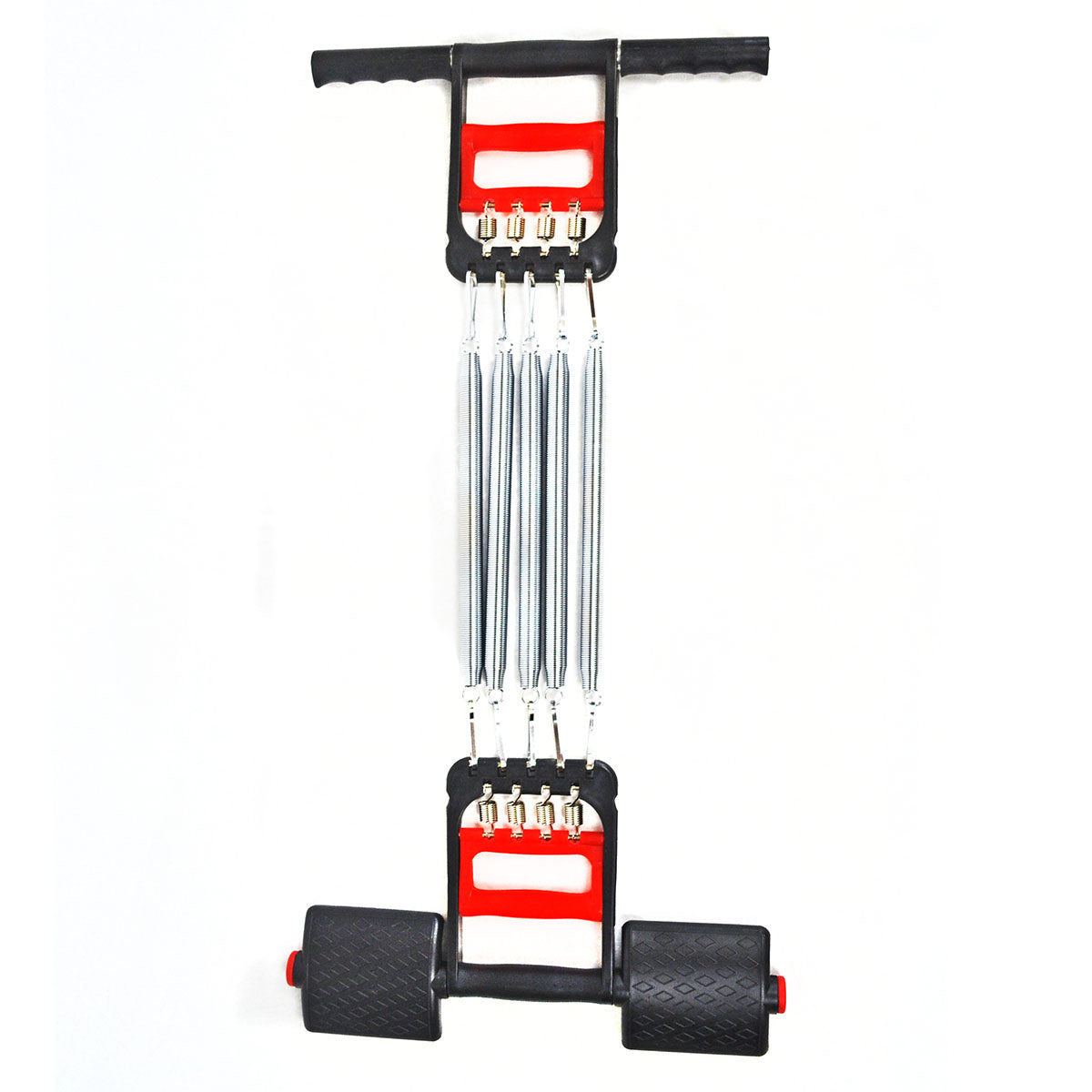 Wooden Handle Home Fitness Equipment Spring Exerciser Chest Expander Pull-up