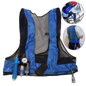 Cooling Vest Vortex Tube Air Conditioner Waistcoat Compressed Air ice Cooling Clothes in a hot environment for Welding