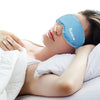 Hot Cold Therapy Gel Bead Eye Mask Compress Reusable Sleeping Mask with Strap, Anti Aging Eye Mask for Puffy / Dry / Cooling Eye, Improve Sleeping, Alleviate Puffy, Swollen Eyes Blue
