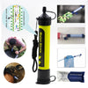Portable Water Filter Hiking, Camping, Traveling Emergency Preparedness