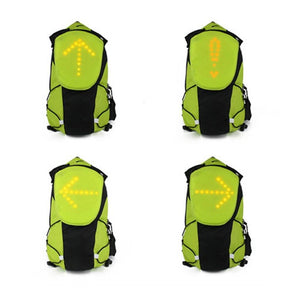 LED Turn Signal Bike Light Reflective Vest 5Liter Sport Backpack for Night Cycling  Running MotorcyclingSafety Outdoor