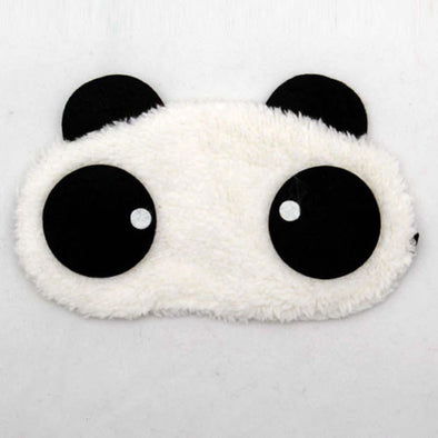 Lovely panda Face Sleep Masks panda Eye Mask Sleeping Blindfold Nap Cover #B