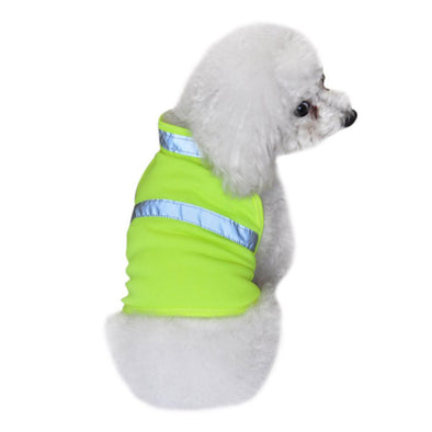 Pets Fluorescent Security Dog Reflective Waterproof Vest Clothes Safety Luminous Pet Clothing