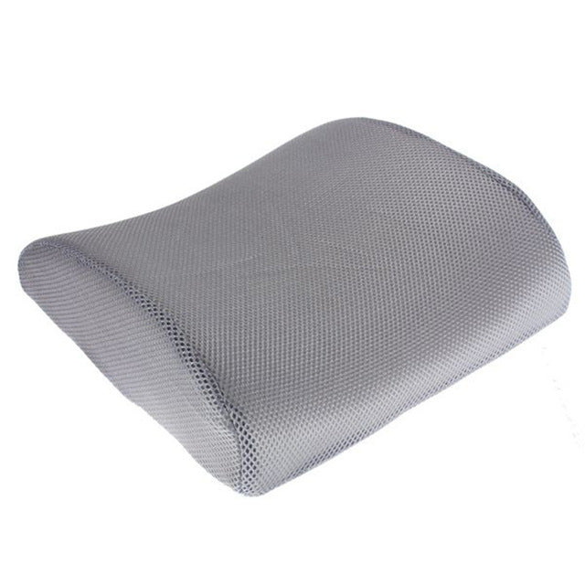 Memory Foam Lumbar Back Support Cushion Pillow For Car Auto Seat