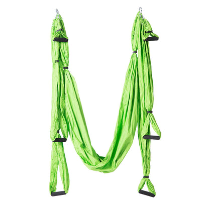 10 color Strength Decompression yoga Hammock Inversion Trapeze Anti-Gravity Aerial Traction Yoga Gym strap yoga Swing set