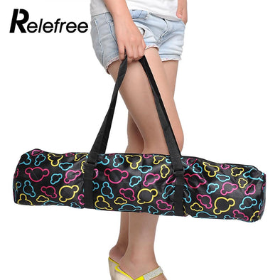 Relefree Waterproof Yoga Pilates Mat Case Bag Carriers Backpack Pouch multifunctional