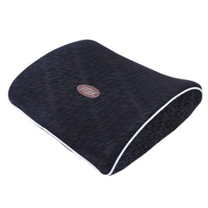 Car Waist Cushion Memory Cotton Lumbar Neck Pillow Massage Headrest Car Interior Supplies for Back Support Pad Seat