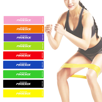1 Pc Latex Yoga Stretch Resistance Fitness Crossfit Band Tubing Expanders Strap Elastic Band Workout Training