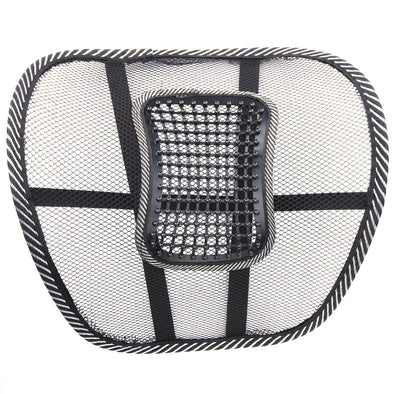 2Pcs Massage Car Cushion Seat Back Mesh/Hollow  Cloth Support Lumbar Waist Chair Massage Back Pillow for Cars Home Office New