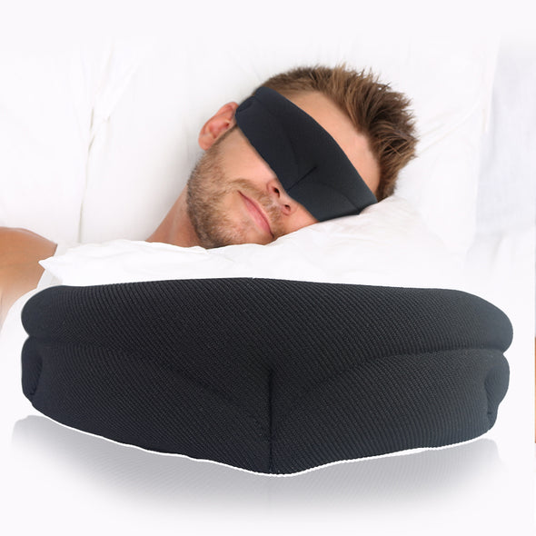 New! Fashion Sleep Mask Rest Travel Relax Sleeping Aid Eye Mask Blindfold Portable Soft Cover Eye Patch For men women