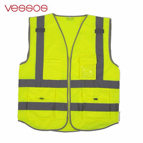 High Visibility Reflective Vest Clothes Cycling Reflective Safety Waistcoats