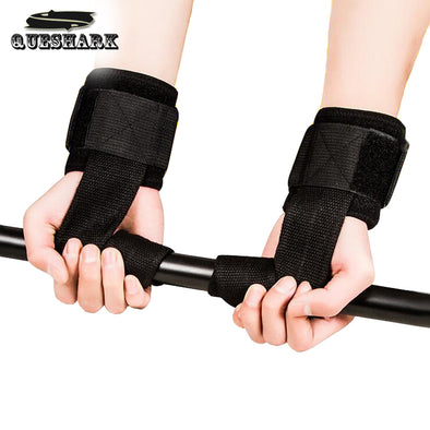 Fitness Gym Weightlifting Lifting Dumbbell Hand Straps Grips Belt Barbell Bandage Power Lifting Straps Sports Wrist Wrap Support