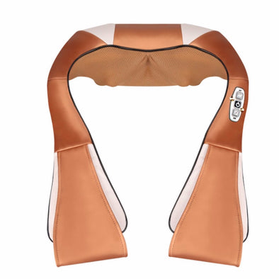 Electric Massage Cape 16 Massage Heads Infrared Therapy Neck Back Waist Pain Relief Health Care Household Body Massager Device