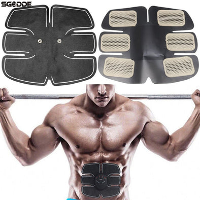 Hot Sale Electric Pulse Treatment Massager Abdominal Muscle Stimulator Exerciser Device Muscles Intensive Training Massager