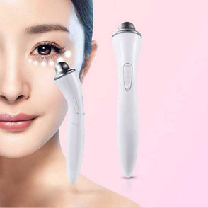 massage Face Care Massager anti wrinkle Remove Eyes Beauty Instrument Eye Wrinkles machine Crow's-feet electric Vibration Pen