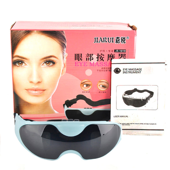 Eye Massage Device Eye Massage Instrument Eye Protection Instrument Black Vibration Release Alleviate Fatigue Eye Massager