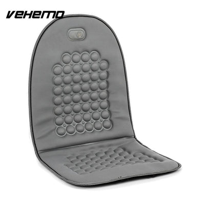 Vehemo Magnetic Car Vehicle Bubble Seat Cushion Cover Massage Therapy Office Pad Gray