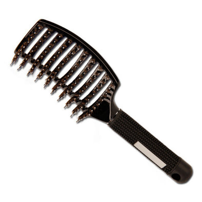 1PC Solid Women Hair Combs Bristle Hair Makeup Brushes Scalp Massage Comb Wet Hair Brush Salon Hairdressing Styling Tools