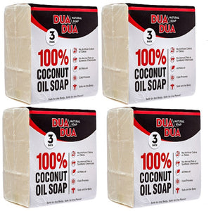 Dua Dua Coconut Oil Soap 4 pack