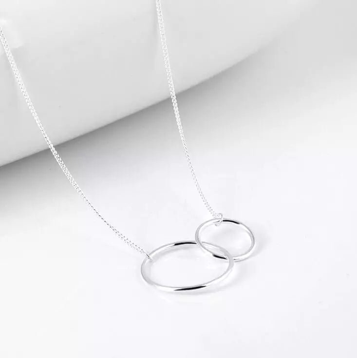 Double Ring necklace - M.A.D