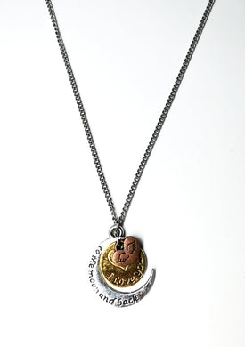 Moon necklace - M.A.D