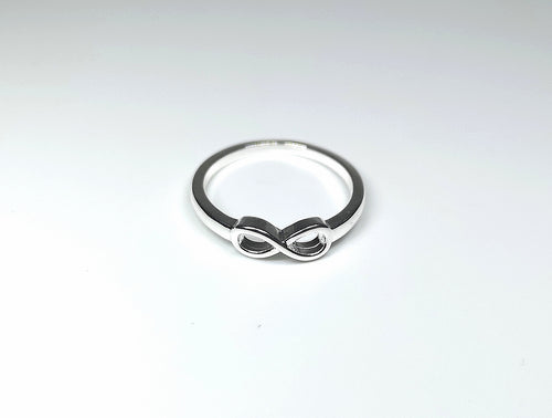Sterling Silver Infinity Ring - M.A.D