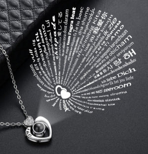 Heart necklace - M.A.D