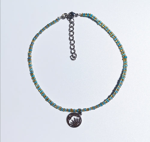 Sun and Moon Anklet