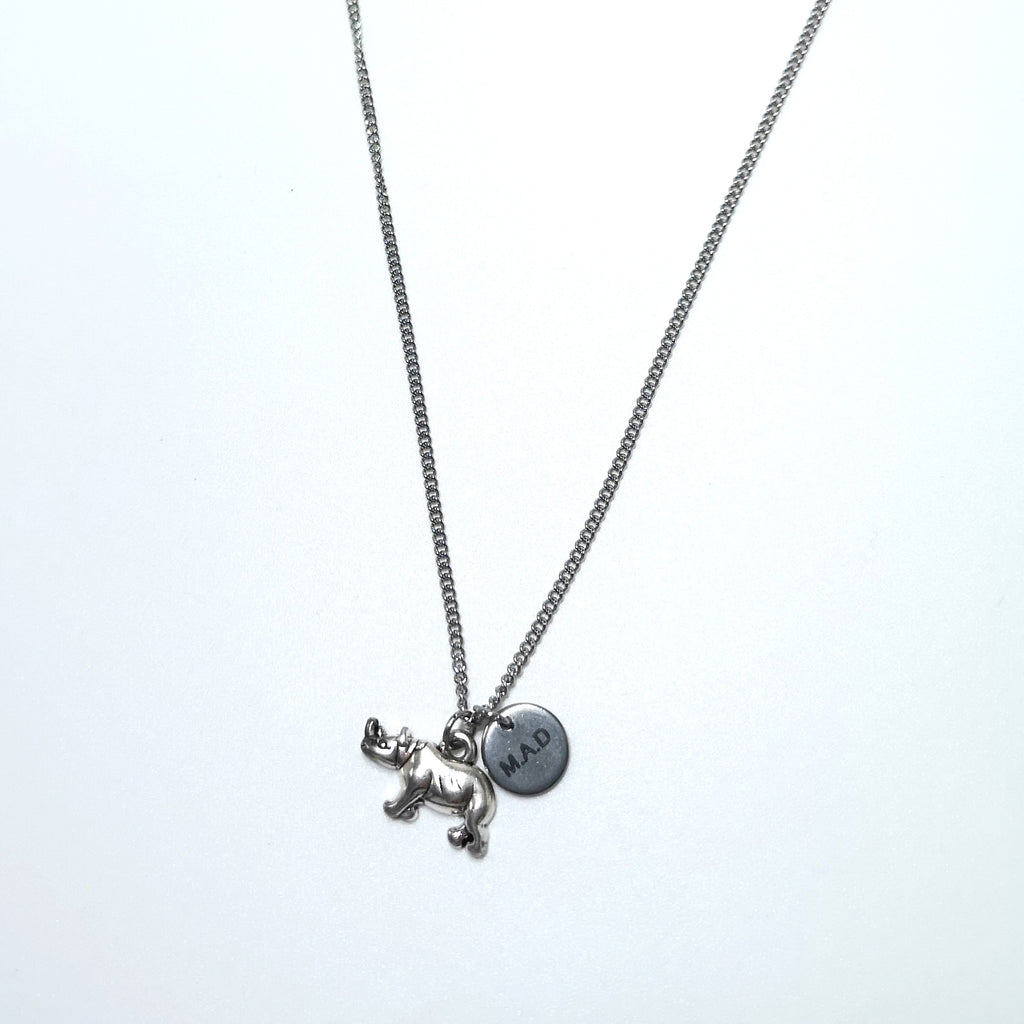 M.A.D Rhino Necklace
