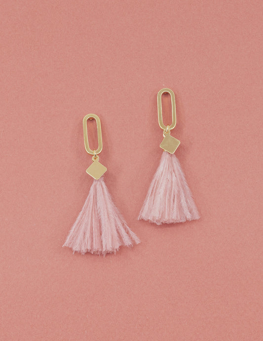 Boucles Lisay - Rose
