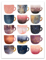 Pretty Coffee Cups II