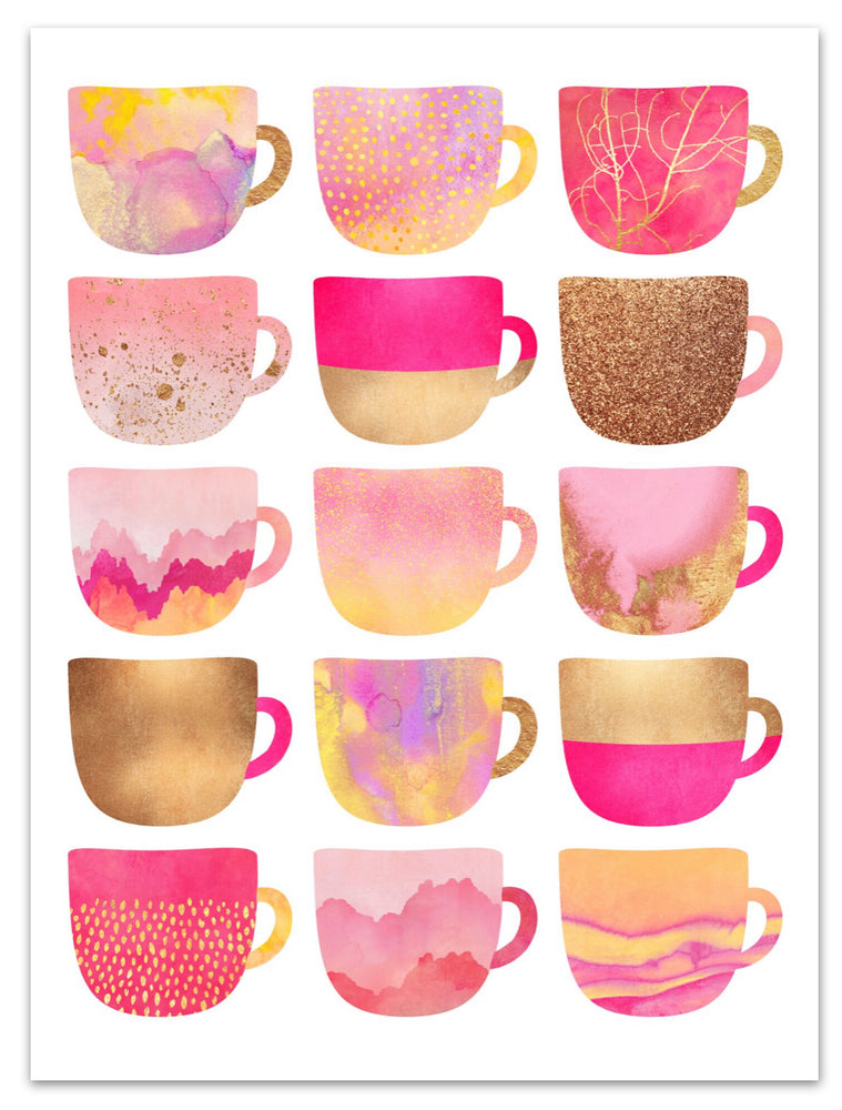 Pretty Coffee Cups III
