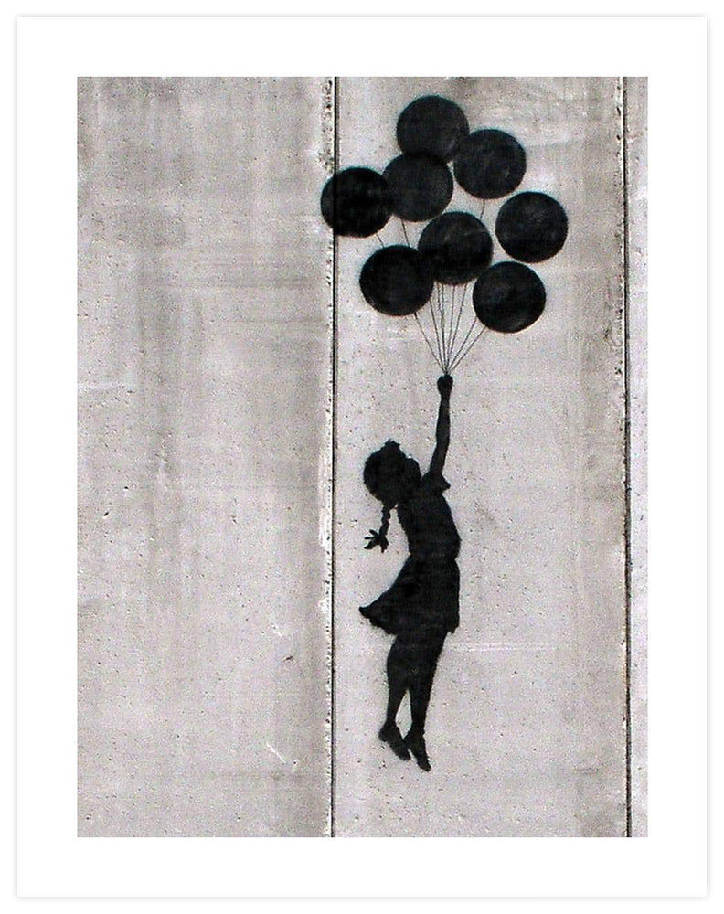 Balloon girl Palestine