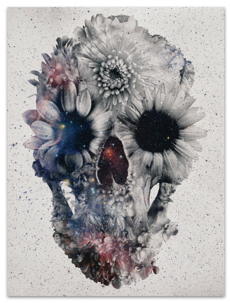 Floral Space Skull