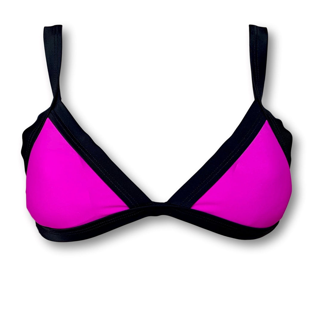 TopOutlet-Bali Viola Top-PHYSICAL-Siberica Swim-Only Top Match with Bottom to complete the look Top padded removable High quality double fabric with lining Model wears size M Bikini for woman Brand: Siberica Swim Care Instructions-S-