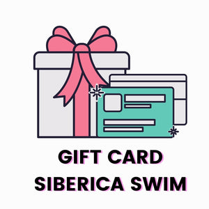 -Gift Card-Gift Card-Siberica Swim-Shopping for someone else but not sure what to give them? Give them the gift of choice with a Siberica Swim gift card. Gift cards are delivered by email and contain instructions to redeem them at checkout. Our gift cards have no additional processing fees.-€10,00 EUR-