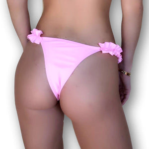 BottomOutlet-Maldive Slip-PHYSICAL-Siberica Swim-Only Bottom Match with Top to complete the look Brazilian bottom High quality double fabric with lining Model wears size M Bikini for woman Brand: Siberica Swim Care Instructions-S-