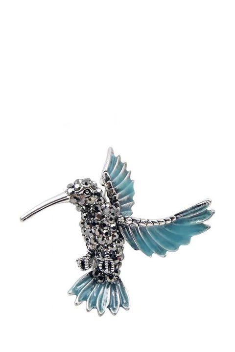 Brooch - Hummingbird