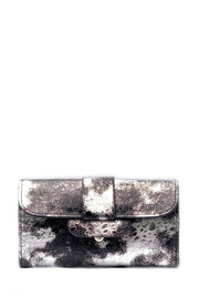 Clutch Bag - Metallic Silver