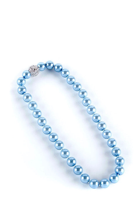 Dante Necklace - Sky Blue Pearls
