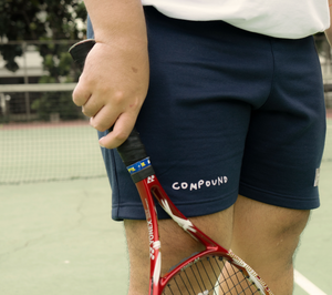 NINDITO™ x COMPOUND NAVY SHORTS